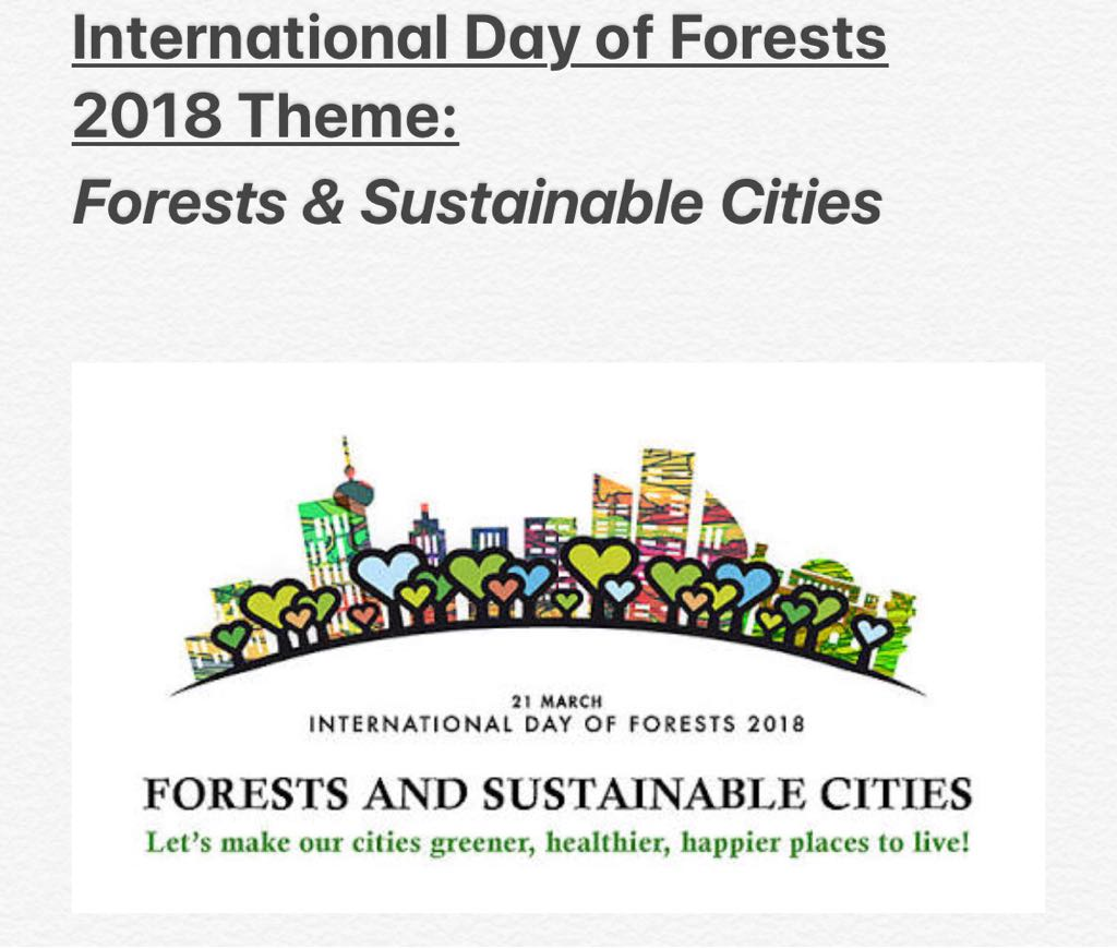 International Day of Forests 2018 Theme | Forests and Sustainable Cities | Key Messages for International Day of Forests - forestrypedia.com