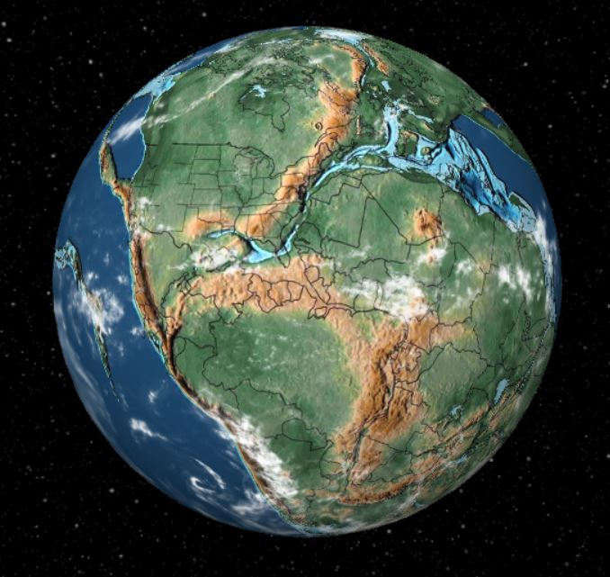 200 million years ago - Forestrypedia